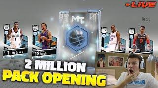 Download 2 MILLION DIAMOND PACK OPENING!! NBA 2K17 Video