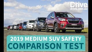 Download Safest SUV You Can Buy In 2019, Medium SUV Mega Comparison Test | Drive.au Video