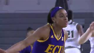 Download ECU WBB vs USF Highlights Video