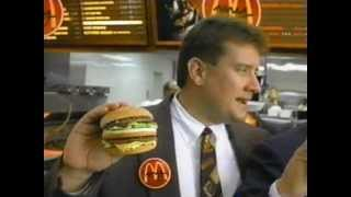 Download McDonald's Big Mac with inventor 1997 Video