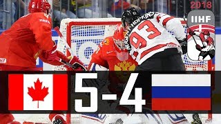 Download Canada vs Russia | 2018 IIHF Worlds Highlights | May. 17, 2018 Video