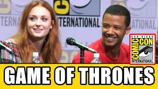 Download Game of Thrones Cast Reveal Who They Wish Hadn't Been Killed - Season 7 Comic Con Panel Video