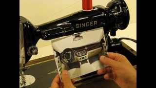 Download Gorgeous Singer 201-2, ″Rolls Royce of Singers″ - Introduction and Tutorial Presentation!! Video
