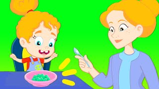 Download Yes Yes Vegetables Song - 30 mins Groovy The Martian & Phoebe singing Nursery Rhymes for children Video
