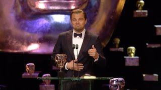 Download Leonardo DiCaprio wins Best Leading Actor award - The British Academy Film Awards 2016 - BBC One Video