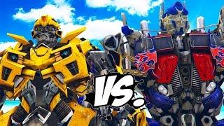 Download BUMBLEBEE vs OPTIMUS PRIME - Transformers Battle Video