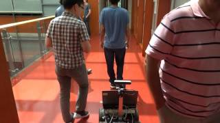 Download Person Following Robot using Deep Learning in challenging situations. Video