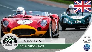 Download 2018 Le Mans Classic - Grid 2 - Race 1 Video