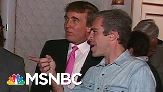 Download Footage Of Trump Partying With Epstein Surfaces | Deadline | MSNBC Video