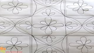 Download Nakshi kantha design-84,How to make Nokshi katha,নকশী কাথার ডিজাইন, नोक्षी कथा डिजाइन Video