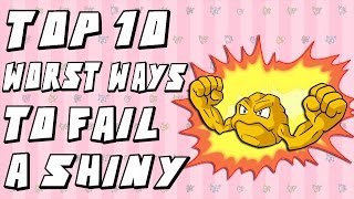Download Top 10 Worst Ways to Fail a Shiny Pokemon Video
