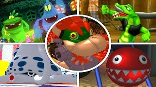 Download Mario Power Tennis - All Bosses & Special Games Video