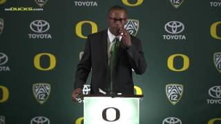 Download Willie Taggart introduction to Oregon Football Video