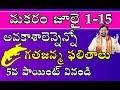 Download Makara Rashi 2018 July 1-15 (Capricorn Horoscope) | Rasi Phalalu మకరరాశి | Sreenivasa Gargeya Video