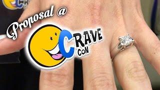 Download JP Proposes at CraveCon *VOMIT ALERT* Video
