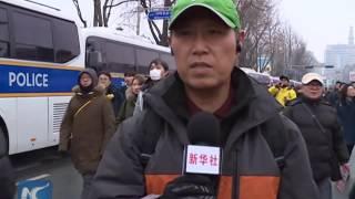 Download Mass protests against S. Korea's Park Video