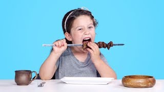 Download Kids Try Ancient Recipes | Kids Try | HiHo Kids Video