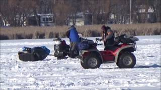 Download ICE FISHING 2016. Joe and Zach. No fish, great time on the ice. Video