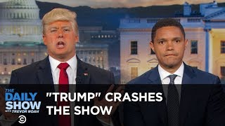 Download ″President Trump″ Crashes The Daily Show: The Daily Show Video