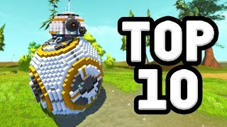 Download TOP 10 CREATIONS OF 2016! (Scrap Mechanic) Video