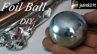 Download Polished Aluminum Foil Ball. DIY. Challenge/Kula z folii aluminiowej. Video