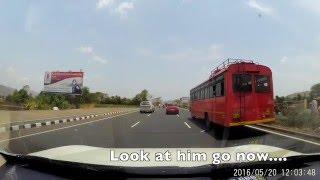 Download Reckless Tata Hexa caught Testing on NH4 between Satara and Pune Video