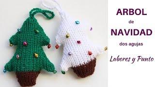 Download Como tejer un árbol de navidad reversible a dos agujas- Labores y Punto Video