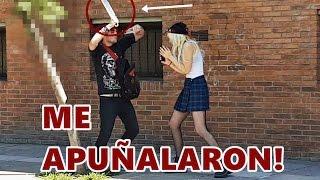 Download CAZANDO VENDEDOR DE DROGA SALE MAL - YOUTUBER APUÑALADO - Experimento Social Video