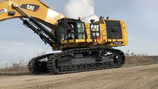 Download Cat 6015B Excavator Fitting The Bucket And The First Loads - Sotiriadis Brothers Video
