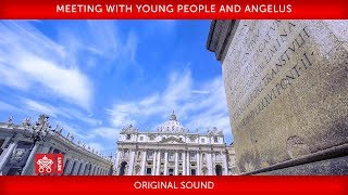 Download St. Peter's Square, Holy Mass with young Italians Video