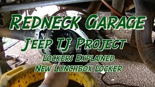 Download Jeep TJ Project - Lockers Compared - Lunchbox Lockers and a New Flag Video