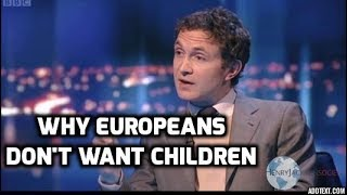 Download Douglas Murray - Europeans Don't Want Children Video