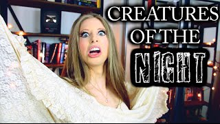 Download BOOK CREATURES OF THE NIGHT Video