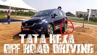 Download Tata Hexa Off Road Driving Video