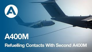 Download Airbus A400M Refuelling Contacts With Second A400M Video