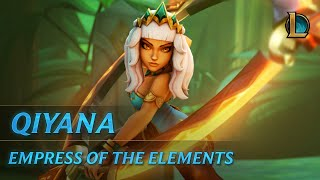 Download Qiyana: Empress of the Elements | Champion Trailer Video