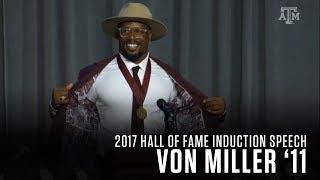 Download Von Miller | 2017 Texas A&M Athletics Hall of Fame Induction Speech Video
