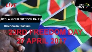 Download Oppostion parties Reclaim our Freedom rally, Caledonian Stadium: 27 April 2017 Video