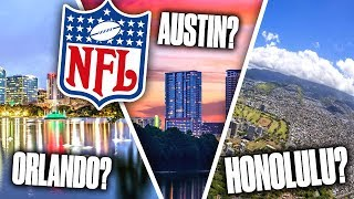Download 10 GREAT Cities that DESERVE an NFL Team Video
