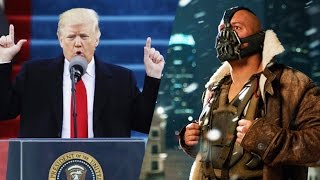 Download Trump Quotes Bane In Inauguration Speech Video