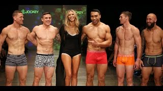 Download All Blacks rugby players on the catwalk Video