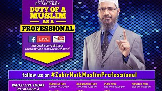 Download Duty of a Muslim as a Professional Video