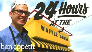 Download Working 24 Hours Straight at Waffle House | Bon Appetit Video