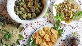 Download Four Easy Artichoke Recipes from Venice! | Pasta Grannies Video
