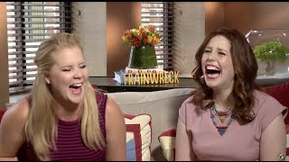 Download UNCENSORED Amy Schumer TRAINWRECK Interview with Vanessa Bayer [DIRTY] Video