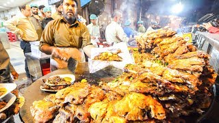 Download Street Food in Pakistan - HARDCORE Chicken, GOAT Foot PAYA + Pakistani Street Food TOUR of Lahore!!! Video