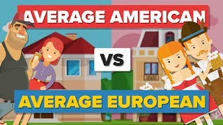 Download Average American vs Average European (2017) - How Do They Compare? - People Comparison Video