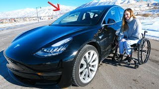 Download Can a Disabled Person Drive a Tesla? Video