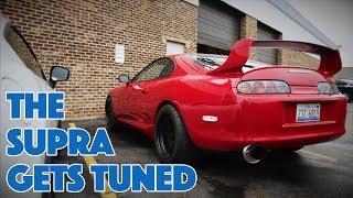 Download Building a Monster Toyota Supra - Dyno Dreams - Part 10 [ALBON Garage] Video
