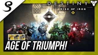 Download Destiny - AGE OF TRIUMPH LIVE! RETURN OF RAIDS! EXOTIC RAID WEAPONS AND MORE!! Video